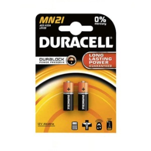 2-DURACELL-12V-P23GA batteries