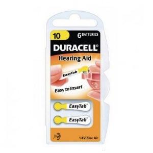6--DURACELL-10-PR70 batteries