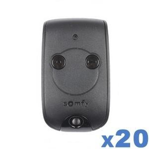 lot-de-20-remote controls-SOMFY-2